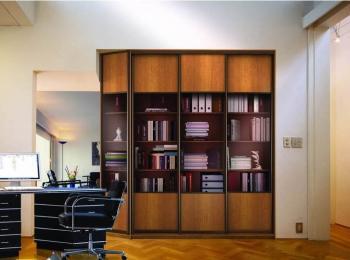 Книжный шкаф-купе 009 «Аристократ»