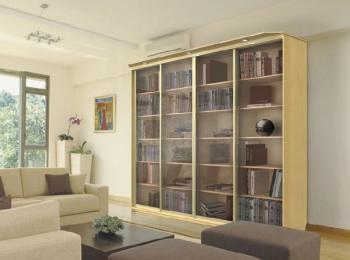 Книжный шкаф-купе 010 «Сити»