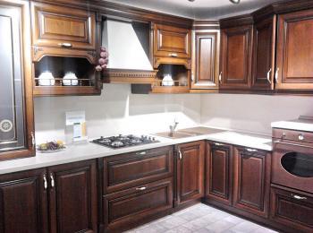 Кухонные шкафы 004 Нике