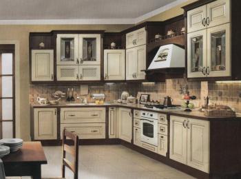 Кухонные шкафы 005 Позитано