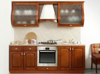 Кухонные шкафы 022 Массив Люкс