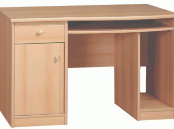 Письменный стол 027 коллекции ПОП с классической конструкцией
