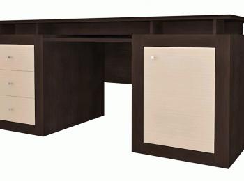 Стильный письменный стол 038 коллекции Капри