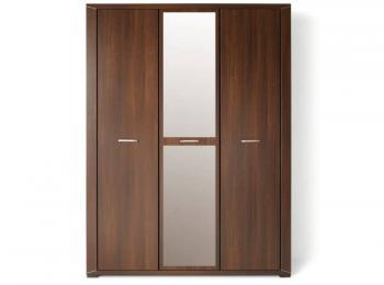 Распашной шкаф с зеркалом 075 коллекции Палермо