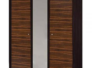 Трехстворчатый шкаф 080 коллекции Капри