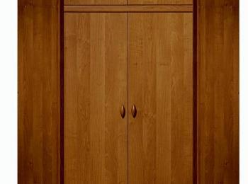 Угловой распашной шкаф 088 коллекции Борис.