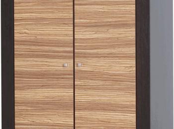 Распашной двухстворчатый шкаф 092 коллекции Капри