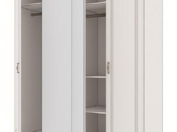Распашной 4-х дверный шкаф 016 Мальвина-2