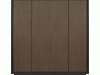 Шкаф распашной 039 Арека на четыре отделения