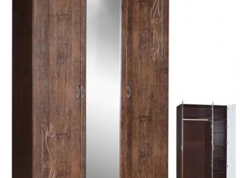Распашной шкаф 025 «Рельеф»