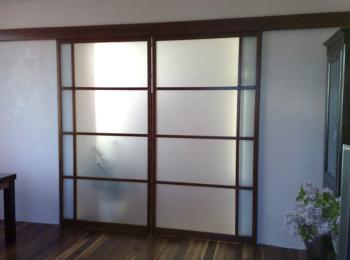 Раздвижные двери 001 в проем на кухню