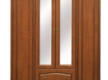 Шкаф распашной 059 четырехстворчатый Наталия