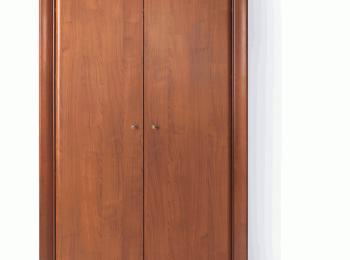 Двухстворчатый шкаф 096 коллекции Ларго Классик