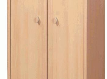 Распашной шкаф 104 небольшой глубины коллекции ПОП.