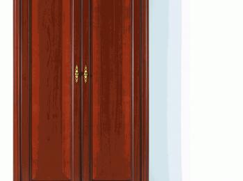 Классический шкаф 112 коллекции Стилиус.
