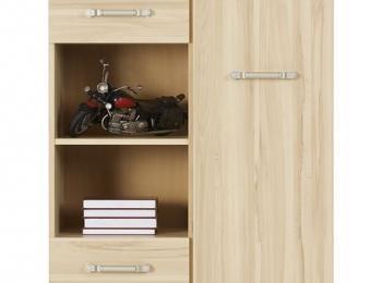 Комбинированный шкаф 117 коллекции Инди