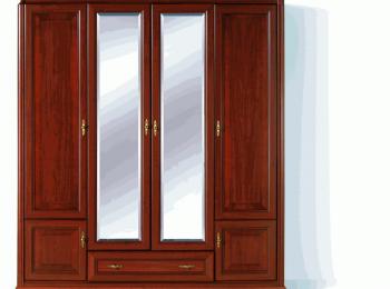 Шкаф распашной 050 в классическом стиле Стилиус