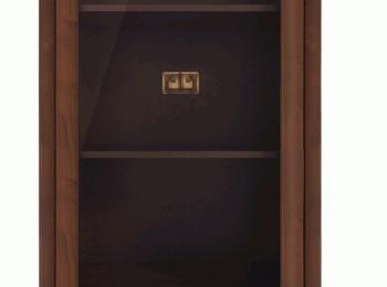 Шкаф с витриной 123 коллекции Болден.