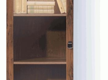 Шкаф с витриной 127 коллекции Индиана.