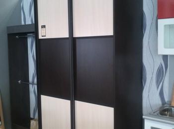 Шкаф купе 058 с двумя раздвижными дверцами