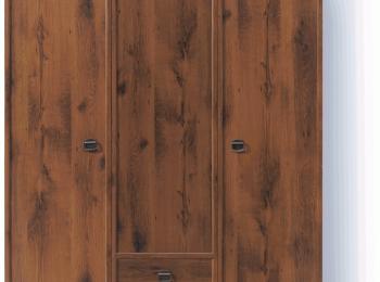 Шкаф распашной 065 Индиана в цвете Дуб Шуттер