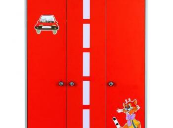 Детский распашной шкаф 067 Лео