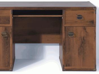 Большой письменный стол 043 коллекции Индиана
