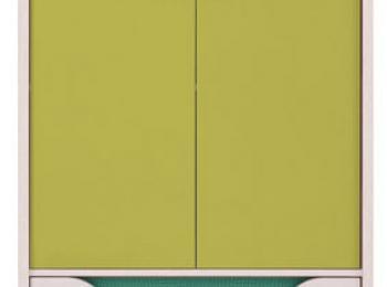 Тумба 081 коллекции Хихот в зеленом цвете