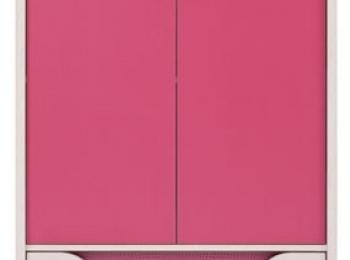 Тумба 082 коллекции Хихот в розовом цвете