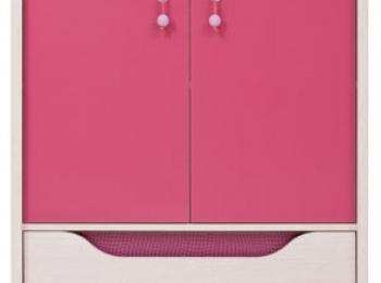 Большая тумба 084 коллекции Хихот в розовом цвете