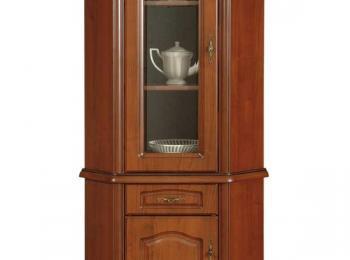 Угловая тумба с витриной 138 коллекции Наталия