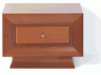 Тумба прикроватная 143 коллекции Ларго Классик