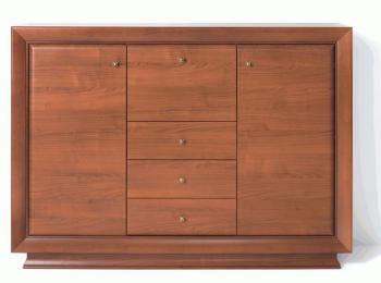 Тумба 149 с ящиками коллекции Ларго Классик