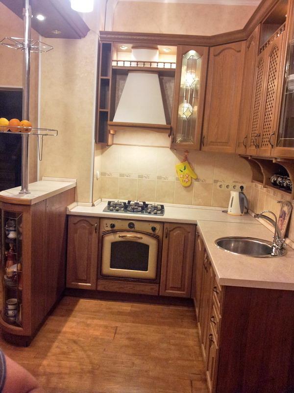 Кухня 028 с барной стойкой