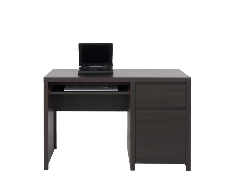 Маленький письменный стол 011 коллекции Каспиан в цвете Венге