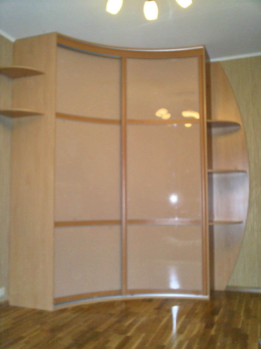 Радиусный шкаф-купе 004
